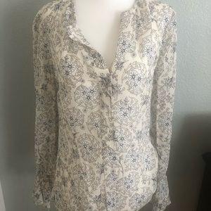 Derek Lam 10 Crosby silk blouse